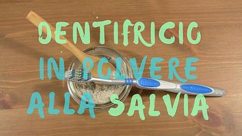 Dentifricio In Polvere Alla Salvia