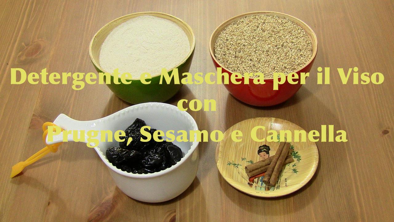 Detergente Viso Con Prugne Sesamo E Cannella
