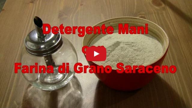Detergente Mani Con Farina Di Grano Saraceno